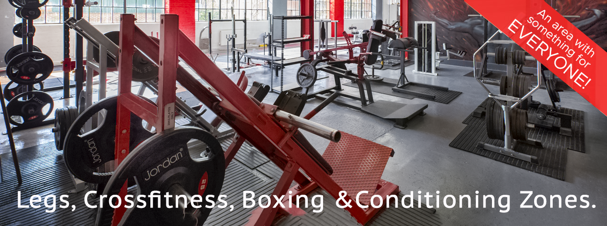 Phoenix Gym Norwich Room Three Conditioning Zone with cross fitness