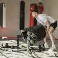 trye flip machine at Phoenix gym Norwich