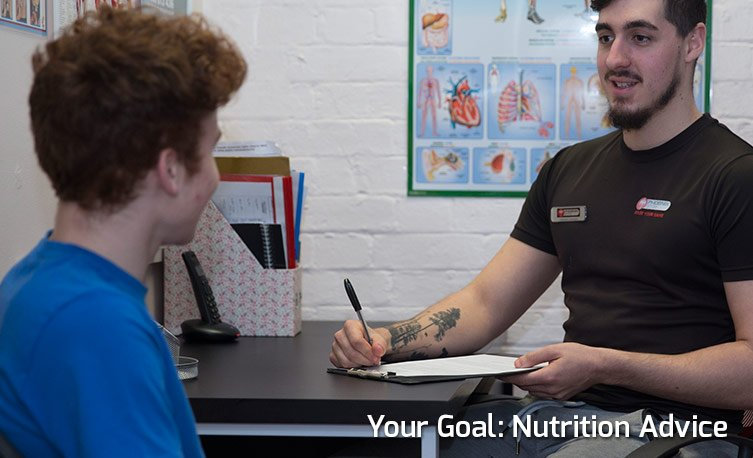 Your Goal: Nutrition Advice