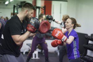Sam Sexton Boxing Fitness at phoenix Gym Norwich