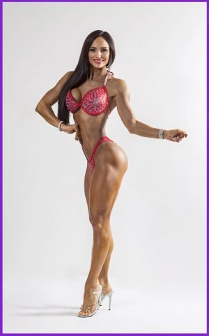 Competition Posing coaching for Bikini girls at Phoenix Gym Norwich