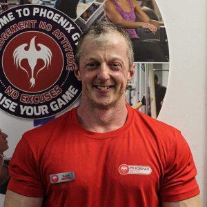 Keith Rowntree - Phoenix Gym Norwich
