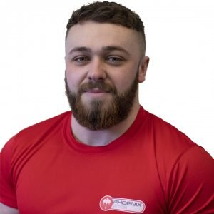 Ryan Best Persopnal trainer at Phoenix Gym Norwich
